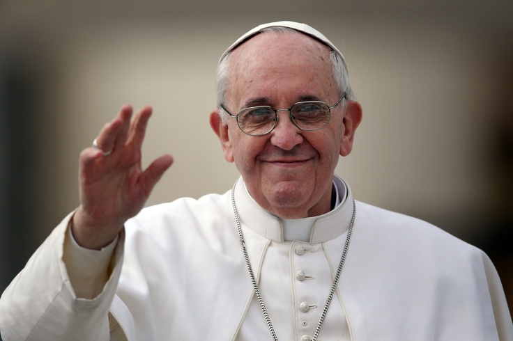 Pope Francis Holds His Weekly General Audience